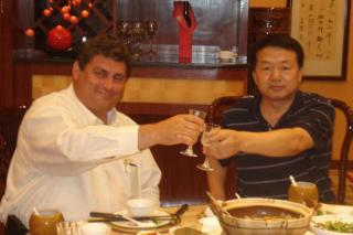 JV Signing Celebration Highland Petroleum Chairman & Technical Industries, Inc. CEO