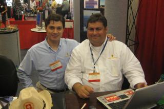 Mr. Benoit & Mr. Sfeir at OTC 08