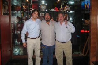 Shawn Benoit, Octavio Morales, Barry Baumgarten
