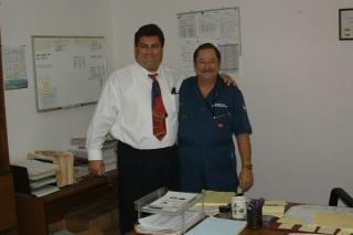 Mr. Sfeir & Mr. Pon Ville Saudi Visit