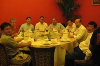 Zhaohui Peng, Shawn Benoit, Mohamed Salhi, Barry Baumgarten, Xiao Shaosong, Luis, Li Haoxue