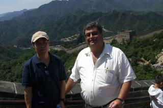 Dr. Frank & Mr. Sfeir At Great Wall