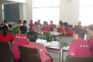 Visonic Training Class At China's Facility
