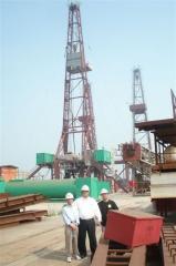 Dr. Frank & Mr. Sfeir at Rig