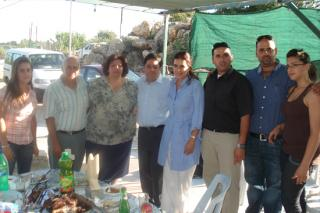 Famliy of Columbian Vice President and Khalilieh Family