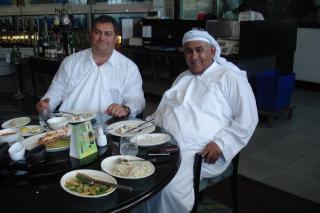 George M. Sfeir, ENGT C.E.O.; Sheikh Khalid Al-Qassimi, JIPCA Director & RAK Free Zone Sovereign Fund