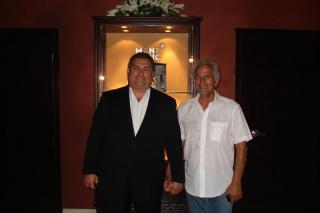 George M. Sfeir & Khader Hankir (Delta Marine UAE President)