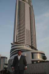 George M. Sfeir at The Address Hotel by Dubai Burj Khalifa Tower