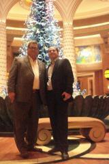 At Dubai Atlantis. George M. Sfeir & Haytham Chehabeddin, Executive Deloite Investments Dubai