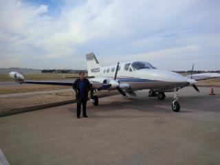Don Clay (ENGT Corp. Pilot)