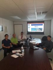 TCKW - Dr. Wang, George Sfeir, Joseph Ho, Roc Wang.